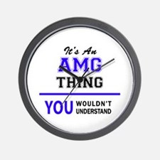 AMG thing, you wouldn't understand! Wall Clock