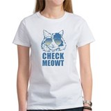 Check meowt Women's T-Shirt