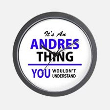 ANDRES thing, you wouldn't understand! Wall Clock