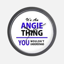 ANGIE thing, you wouldn't understand! Wall Clock