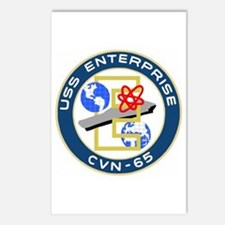 USS Enterprise (CVN 65) Postcards (Package of 8)
