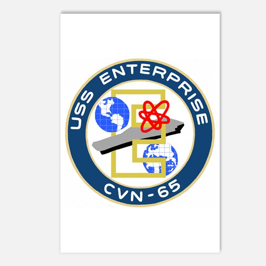 USS Enterprise (CVN 65) Postcards (Package of 8)