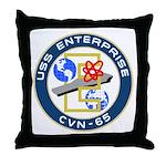 USS Enterprise (CVN 65) Throw Pillow