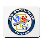 USS Enterprise (CVN 65) Mousepad