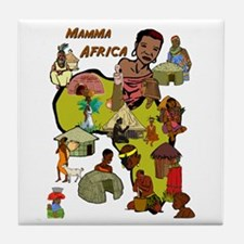 Mamma Africa Tribal Tile Coaster
