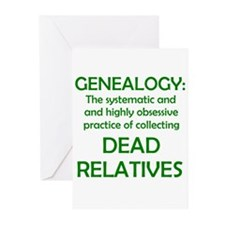 Dead Relatives Greeting Cards (Pk of 10)