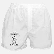 Cute Cyclist Boxer Shorts