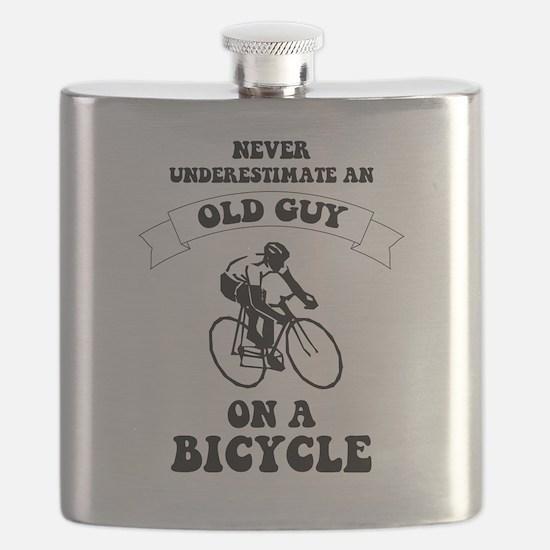 Cute Cyclist Flask