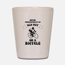 Cute Bicycle Shot Glass