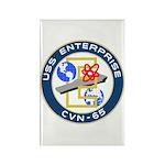 USS Enterprise (CVN 65) Rectangle Magnet (10 pack)