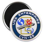 "USS Enterprise (CVN 65) 2.25"" Magnet (10 pack)"