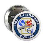 """USS Enterprise (CVN 65) 2.25"""" Button (10 pack)"""