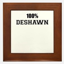 100% DESHAWN Framed Tile
