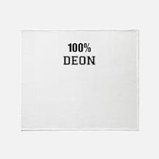 100% DEON Throw Blanket