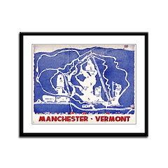 Framed Print of Snow Valley, VT