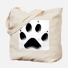 Wolf Track 1 Tote Bag
