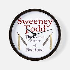 Sweeney Todd Wall Clock