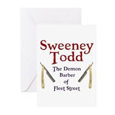 Sweeney Todd Greeting Cards (Pk of 20)