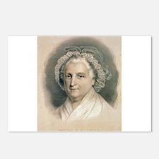 martha washington Postcards (Package of 8)