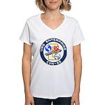 USS Enterprise (CVN 65) Women's V-Neck T-Shirt