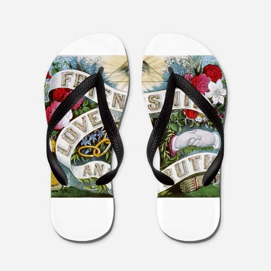 friendship Flip Flops