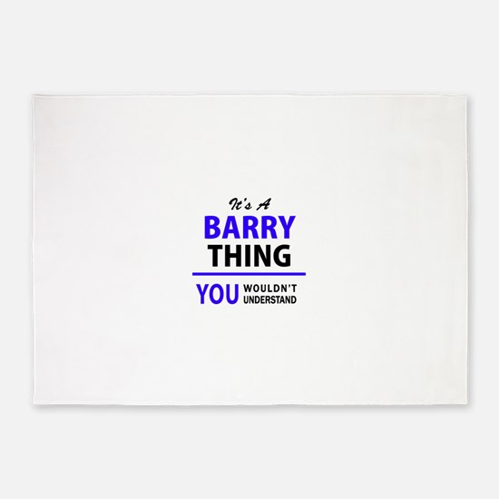 BARRY thing, you wouldn't understan 5'x7'Area Rug