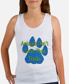 Predator Tracks on Back Women's Tank Top