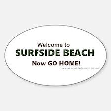 Surfside Beach Decal
