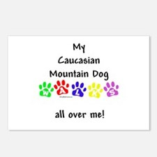 Caucasian Walks Postcards (Package of 8)