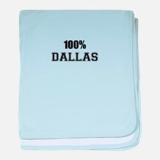 100% DALLAS baby blanket