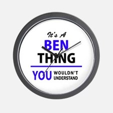 BEN thing, you wouldn't understand! Wall Clock