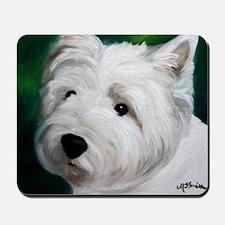 WESTIE DOG Mousepad