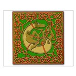 Celtic Knotted Beast Small Poster