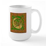 Celtic Knotted Beast Large Mug
