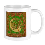 Celtic Knotted Beast Mug