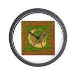 Celtic Knotted Beast Wall Clock