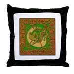 Celtic Knotted Beast Throw Pillow