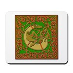 Celtic Knotted Beast Mousepad