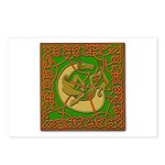 Celtic Knotted Beast Postcards (Package of 8)