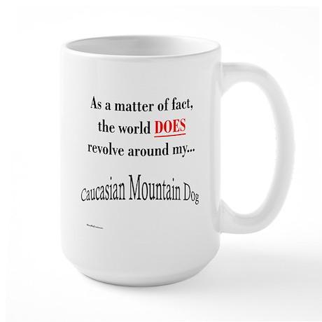 Caucasian World1 Large Mug