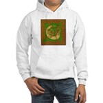 Celtic Knotted Beast (Front) Hooded Sweatshirt