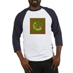 Celtic Knotted Beast (Front) Baseball Jersey