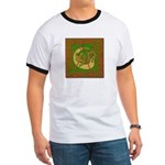 Celtic Knotted Beast (Front) Ringer T