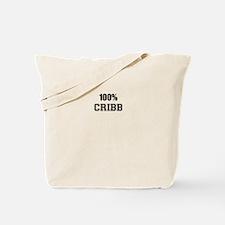 100% CRIBB Tote Bag