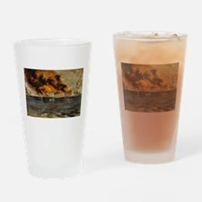 fort sumter Drinking Glass