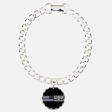 Police: Proud Mom (Black Bracelet