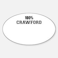 100% CRAWFORD Decal