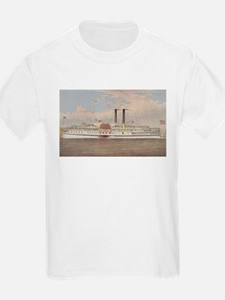 cirroer ives 19th century illustration T-Shirt