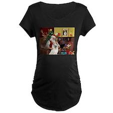Santa's Samoyed T-Shirt