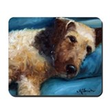 Airedale terrier Classic Mousepad